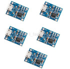 2/5/10pc TP4056 1A Lithium Battery Charging Board Charger Module Micro USB New