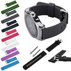 22mm Silicone Watch Band Strap with Quick Release For Samsung S3 R382 LG Moto