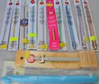 Boye & Susan Bates CROCHET HOOKS Aluminum or Luxite, Sizes D or G only FREE SHIP