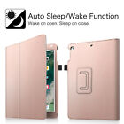 "For iPad 5th Gen 9.7"" 2017 Case Folio Smart Cover Corner Protect Auto Sleep Wake"