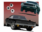 Ford Mustang Dodge Charger 1968 Bullitt Chase canvas print by Richard Browne