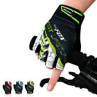 Man Cycling Gloves Half Finger Biking Anti-slip GEL Pad Breathable Sports Gloves