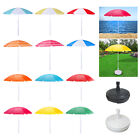 Beach Umbrella Parasol Sunshade Sun Garden Shade Portable Camping Outdoor Canopy