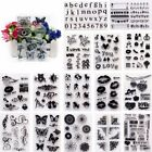 Transparent Silicone Clear Rubber Stamp Sheet Cling Scrapbooking Clair Timbre