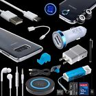 11 Accessory Bundles AC DC QI Charger Cable Lens Case for Samsung Galaxy S8 S9+ фото