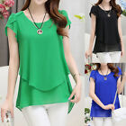 Ladies Womens Summer Casual Long Sleeve Tops Shirt Ladies Loose T-shirt Blouse