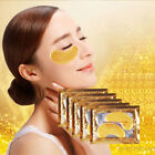 New 1/5/10 Pcs Gold Moisturizing Skin Care Gel Collagen EYE Hydrating Face Masks