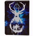 Hogwarts Supernatural Skull Leather Smart Case Stand Cover For ipad mini 1 2 3