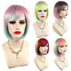 Womens Short Lolita Bobo Style Synthetic Cosplay Wig / Fashion Hair Multi Color