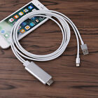 2M Lightning to HDMI HDTV Adapter Cable for Apple iOS 10 iPad iPhone 7 6 6S Plus