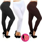 Plus Size Seamless Footless Stretch Legging Women Lady Yoga Pants Spandex Xl/2xl