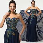 PLUS SIZE Formal Evening Long Prom Gown Party Wedding COCKTAIL Bridesmaid Dress