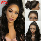 Hot Glueless Human Hair Lace Front Wig Real Natural 360 Baby Hair Full Lace Wig