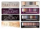 Внешний вид - Eyeshadow Palette- Beauty Creations Smokey, Nudes, Night Out, Twilight- w/ Brush