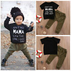 Newborn 6 12 18 24 Months Outfits Baby Boys t Shirts Leggings Pant Clothes Set