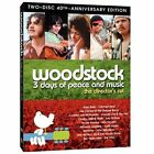 WOODSTOCK 3 days of peace and music the director's cut 40th Anniversary Blu-Ray