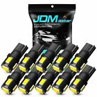 10x 168 175 194 Dome Map License Marker Parking Tail Door ED Lights Bulbs White