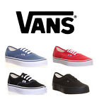 Genuine Vans Authentic Womens Suede Leather Trainers