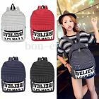 US Women Canvas Travel Satchel Shoulder School Book Backpack Rucksack Hiking Bag