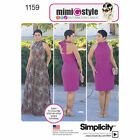 Simplicity 1159 Sewing Pattern Mimi G Style Misses 6-24 Halter Dress in 2 Length