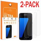2Pcs Premium Real Tempered Glass Film Screen Protector for Samsung Galaxy S7 On5