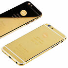 Luxury 24K Gold Plated Replace Rear Back Battery Housing Cover Case For iPhone 6