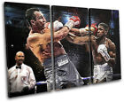 Boxing Joshua Klitschko Grunge Sports TREBLE CANVAS WALL ART Picture Print