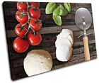 Food Pizza Italian Food Kitchen SINGLE CANVAS WALL ART Picture Print