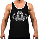New Buff Pharaoh Men's Tank Top WT T Shirt Workout Fitness Muscle Egypt Funny