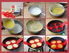 Perfect Flippin Non Stick Pancake Pan Flip Breakfast Maker Eggs Omelette Tool LG