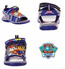 PAW PATROL MARSHALL CHASE Boys Light-Up Sandals Shoes Szs. 7 8 9 10 11 or 12 $35