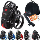 NEW 2017 SkyMax Cube 3 Wheel Compact Push/Pull Golf Trolley Cart + Free Gift