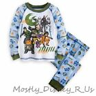 New Disney Store Star Wars Rebel Boys PJ Pal Pajamas 2 PC Long Top Pants 4 5 7