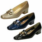 Van Dal Ladies Elegant Smart Court Shoes Twilight