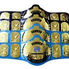 Classic Gold Winged Eagle Championship Belt Adult 4mm Thick brass Plated