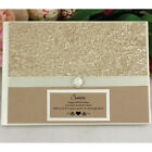 40th Birthday Guest Book Memory Album - Gold - Add a Name & Message