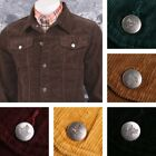 Run and Fly Mod Retro 60's Indie Western Jacket Cord Corduroy