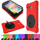 "Hybrid Rugged Hard Stand Case Cover For Samsung Galaxy Tab E 8.0 T377 8"" Tablet"