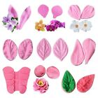 Petal Flower Leaf Fondant Silicone  Cake Decor Chocolate Sugar Baking Mold cute