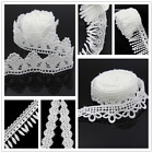 3yds White Lace Trim for Wedding Bridal Dress Applique Sewing Craft Decor DIY