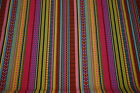 Craft-Dressmaking-Sewing Bee AZTEC COTTON STRIPE PRINT-Fabric-Metres-Colours