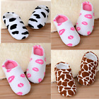 Unisex Home Anti-slip Shoes Soft Winter Warm Sandal Indoor Coral Fleece Slippers