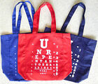 Tori Amos Eye Chart Tote Bag Shopper NEW Red Blue Unrepentant Geraldines Tour