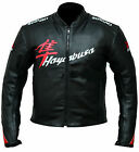 Suzuki Black Hyabusa Motorcycle Leather Jacket Sports Motorbike Leather Jacket