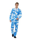 Sky High Cloud Sky Printed Stand Out Suit Party Adults Fancy Dress Costumes