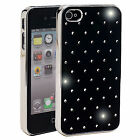 Black Diamante Mobile Phone Case (i phone, Samsung, Sony, Jewel, sparkle, bling)