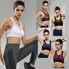 Ladies Stretch Bras Shapewear Seamless Sports Style Bra Crop Top Vest Plus Size