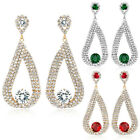 Dazzling Crystal Statement Earrings Party Wedding Bridal Accessory E114 E115E116