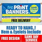 Banners  printing Outdoor Vinyl Banner || Free Delivery