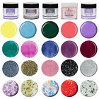 EZFLOW  Acrylic Powders: Boogie Nights, Candy Floss, Neon Brights, Water Colors.